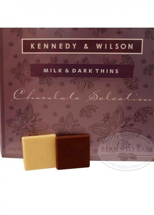 Milk 48% & Dark 70% Chocolate Thins