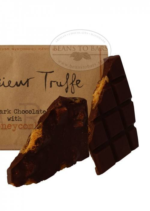 80% Organic Dark Chocolate with Honeycomb