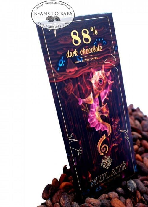 80g Organic Extra-Dark Chocolate 88%