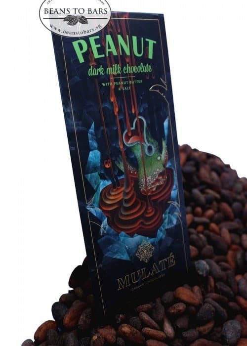 80g Organic Dark-Milk Chocolate with Peanut Butter & Sea Salt
