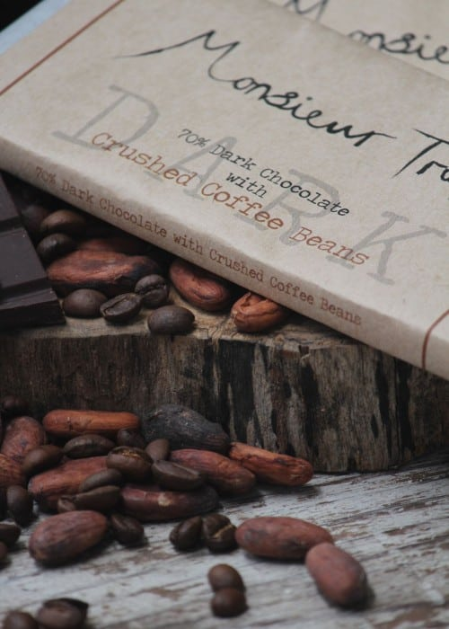70% Organic Dark Chocolate with Crushed Coffee Beans