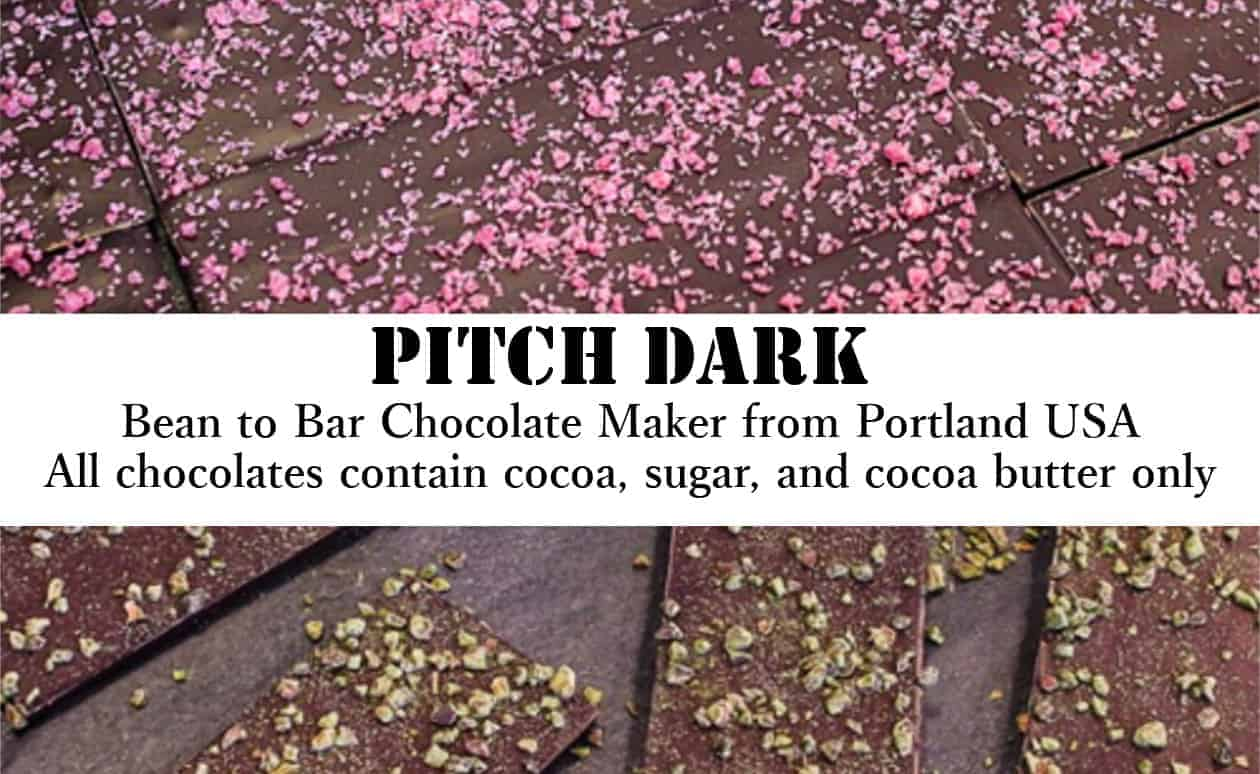 Pitch Dark Chocolates