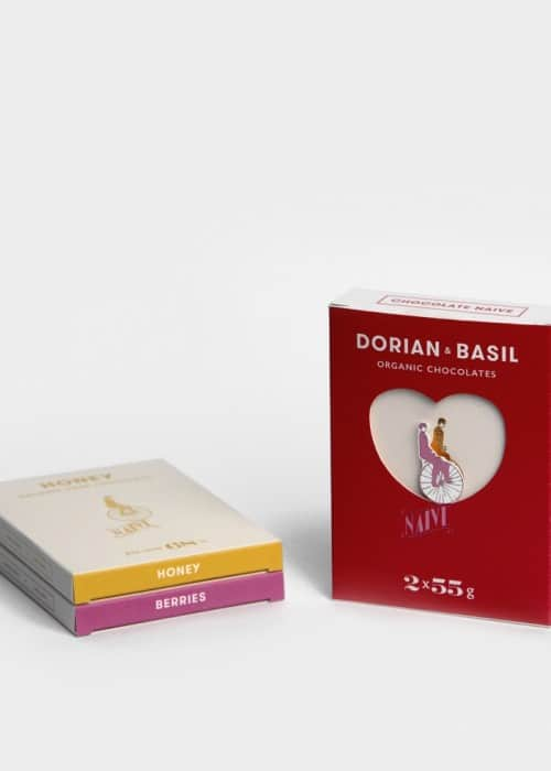 Organic Love Chocolates Dorian & Basil