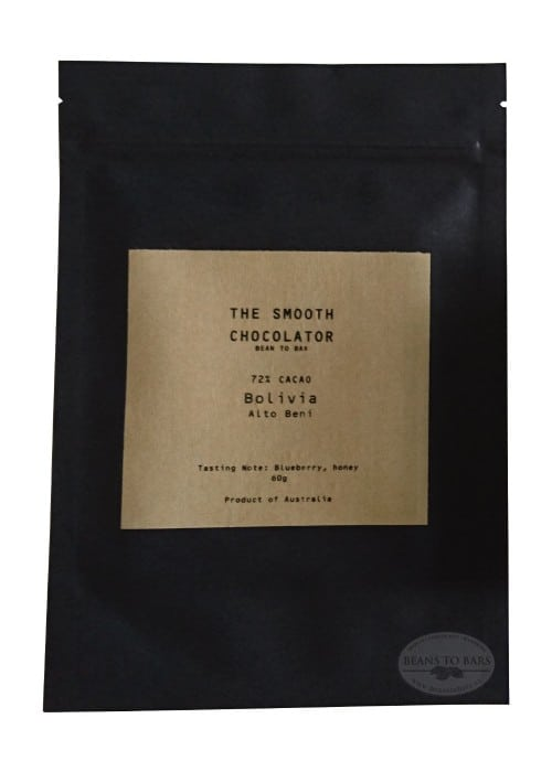 72% Single Origin Dark Chocolate Bolivia