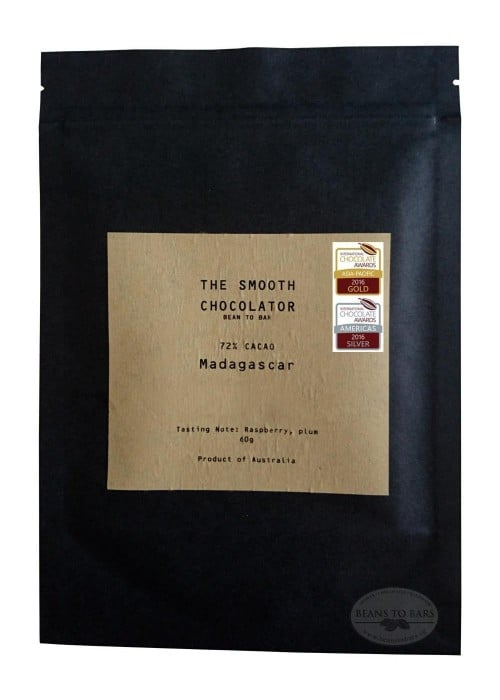 72% Organic Single Origin Dark Chocolate Madagascar