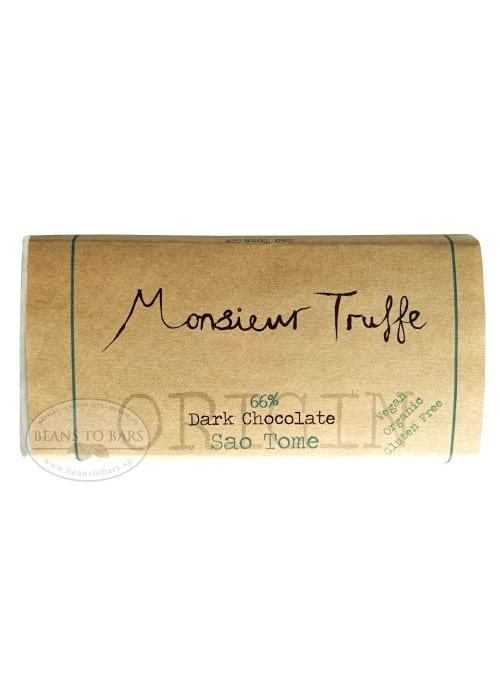 66% Organic Single Origin Dark Chocolate Sao Tome
