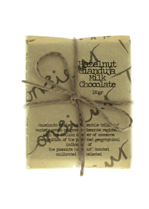 Organic Milk Hazelnut Chocolate Gianduja