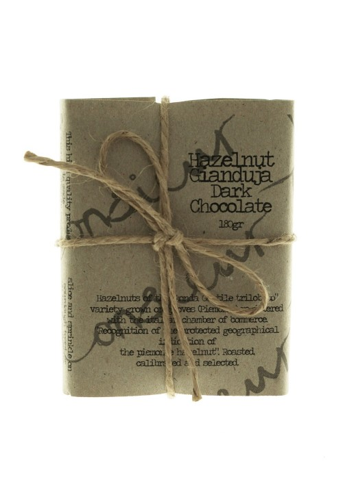 Dark Hazelnut Chocolate Gianduja